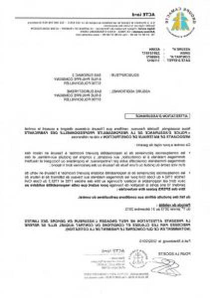 Assurance Dommage Ouvrage Particulier Montant